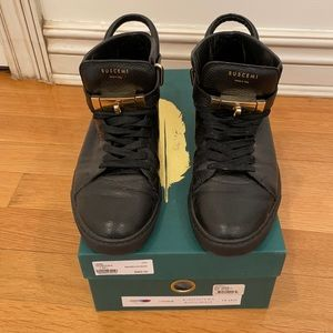 Mens Buscemi High Tops Size 42  (US 9)